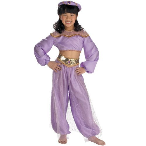 Aladdin Disney Jasmine Enchanted Role Play Deluxe Child Costume