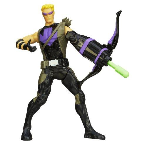 "Avengers Marvel Mighty Battlers Hawkeye 6"" Action Figure"