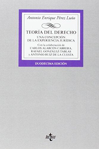EXPERIENCIAS JURIDICAS Y TEORIA DEL DERECHO