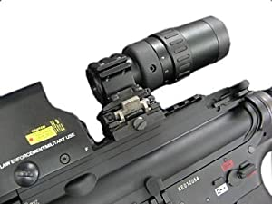 GDT 1.5x-5x Variable Magnifier For Red Dot Sight with Flip-to-Side Mount