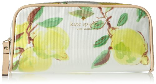kate spade new york Limoncello Bouquet Berrie Cosmetic Case,Lemons,One Size