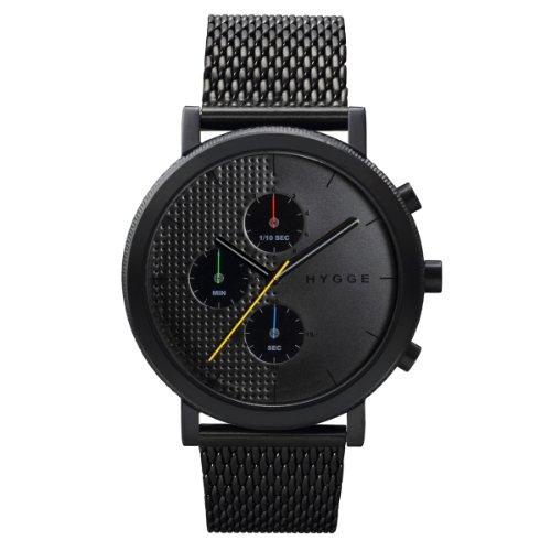 [ヒュッゲ]HYGGE 腕時計 2204 Mesh/Black dial POS+ [ポスト] MSM2204BC(BK) メンズ 【正規輸入品】