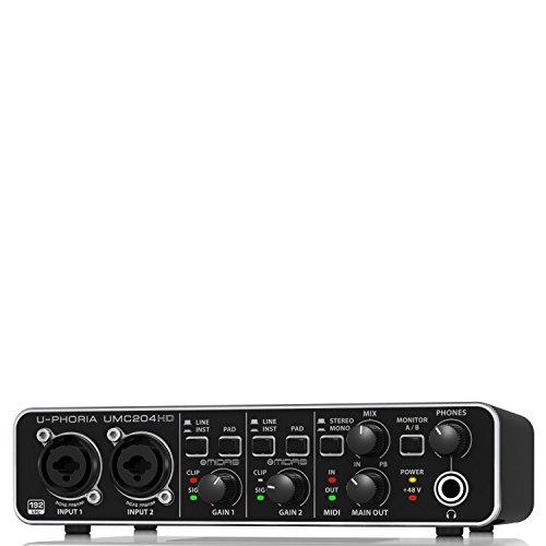 behringer-umc204hd-interfaccia-audio-2x4-midi-usb-a-24bit-192khz-preamplificatori-midas-phantom-48v