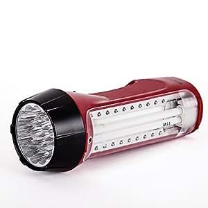 Duronic RL300 Rechargeable LED/Fluorescent Emergency Lantern & Torch Flashlight + 2 Year Warranty