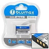 Blumax 3.7 V/690 mAh Li-Ion Battery for Nikon EN-EL11/Olympus LI-60B/Pentax D-LI78/Ricoh DB-80/Sanyo DB-L70 fits FE-370/Pentax Optio W60/W80/Nikon Coolpix S550/S560