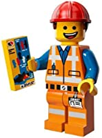 The Lego Movie Emmet Construction Worker Minifigure Series 71004 by Lego