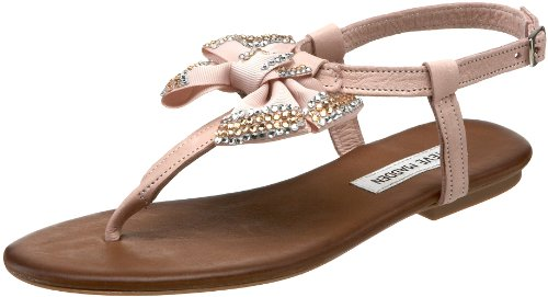 sandals:Steve Madden ladies Blinggy Thong Sandal,Pink,9 michael US Images