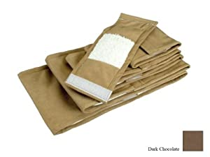 Snoozer Pet Piddle Pads Sanitary Wraps, XX-Large, Dark Chocolate