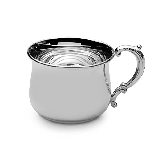 Empire Sterling Silver Bulged Baby Cup - 1