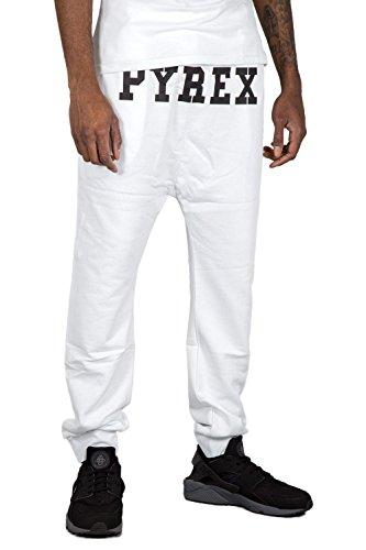 PYREX - Pantaloni unisex joggers 28314 xl bianco