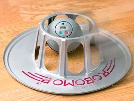 フローリング用お掃除ロボット 新型ロボモップ(タイマー付) 専用ダストシート20枚付き DRM010