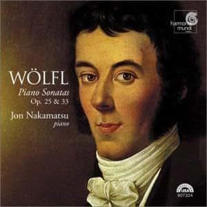 Wölfl : Sonates pour piano op. 25 et 33
