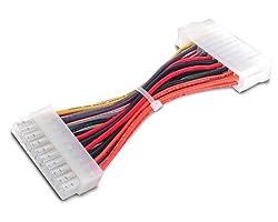 StarTech.com 20 Pin Motherboard to 24 Pin ATX Power Adapter - 6-Inch (ATX2024FM)