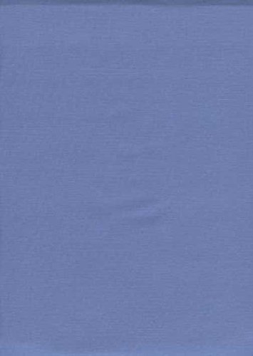 SheetWorld Fitted Bassinet Sheet - Wedgewood Blue Woven - Made In USA