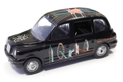 Corgi TY85907 London 2012 Great British Classics Taxi 1:36 Scale Die Cast Vehicle