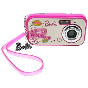 Barbie Fabulous Mirrored Digital Camera