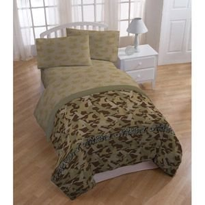 Full Size Camo Bedding 7137 front