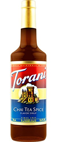 Torani Chai Tea Spice, Cs 12/750Ml, 01-0005 (Torani) R Torre And Co Torani 750Ml