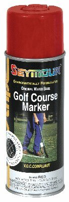 Golf Course Stripe Markers - GOLF COURSE MARKER - RED