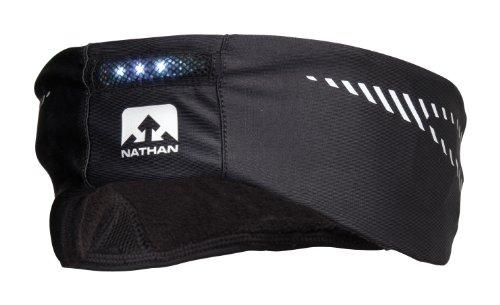 Nathan Headgasket Headband, Small/Medium, Black