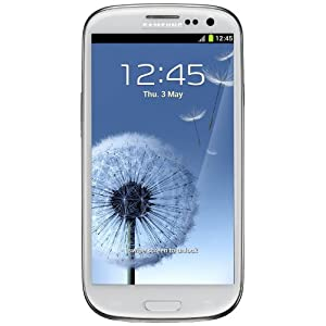 SAMSUNG GALAXY SIII GT-i9300 16GB MARBLE WHITE FACTORY UNLOCKED GSM i9300 S3 (3G HSDPA 850/900/1900/2100)