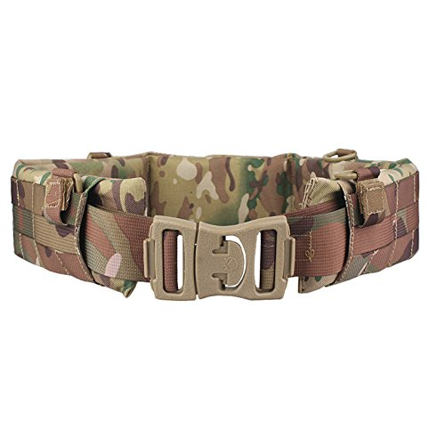 H World Shopping EMERSON Tactical Molle Waist Padded Patrol Battle Belt Military Hunting Multicam MC (Large) (Emerson Tactical Belt compare prices)