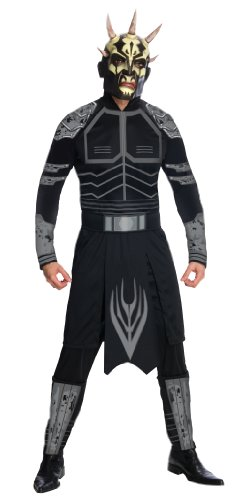 Star Wars Clone Wars Adult Savage Opress Costume And Mask