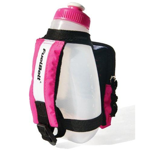 FuelBelt Fuelbelt Sprint Palm Holder (White/Pink, One Size)