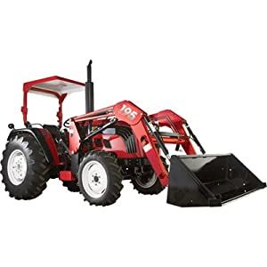 NorTrac 50XT 50 HP 4WD Tractor with Front-End Loader - with Turf Tires [Misc.]