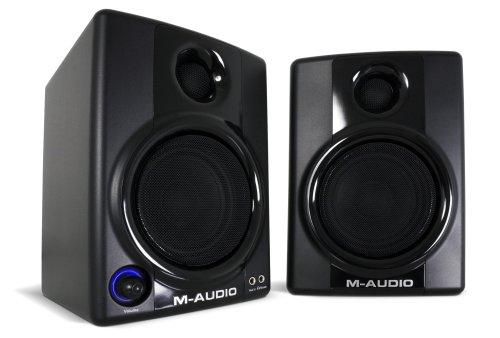【正規輸入品】 M-AUDIO 防磁型デスクトップ・スピーカーシステム AV30