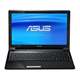ASUS UL50Vt-A1 Thin and Light 15.6-Inch Black Laptop - 11.5 Hours of Battery Life