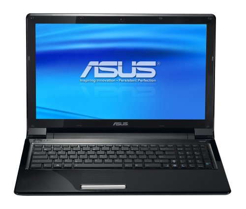 ASUS UL50Vt-A1 Thin and Light 15.6-Inch Black Laptop - 11.5 Hours of Battery Life (Windows 7 Home Scanty)