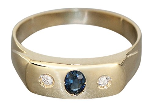 Hobra Gold Eternity Ring Gold 585 M Sapphire U Gold Ring Women's Ring Ring RW 56