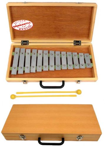 D'Luca 13 Notes Xylophone with Wooden Case TL13B