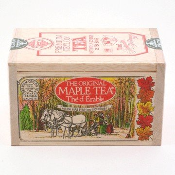 Maple Tea - Wooden Box Of 25 Bags