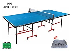 TABLE TENNIS TABLE-DEUCE 501 IN ( Free Table Cover )