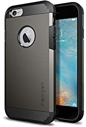 iPhone 6s Case, Spigen [Extreme Protection] Tough Armor Case for Apple iPhone 6 / iPhone 6s - Gunmetal