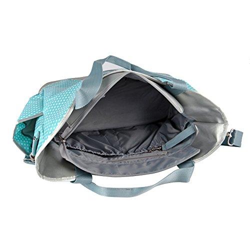 yodo wipe clean large baby diaper bag for moms plus removable shoulder stra. Black Bedroom Furniture Sets. Home Design Ideas