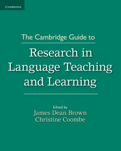 The Cambridge Guide to Research in Language Teaching and Learning (The Cambridge Guides)