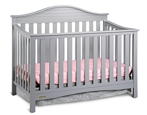 Graco Harbor Lights Convertible Crib, Pebble Gray