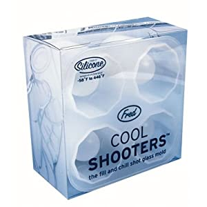 Fred Cool Shooters Shot Glass Mold