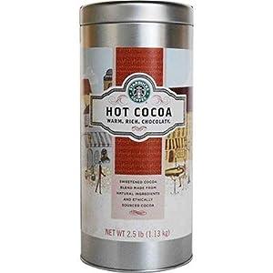 Starbucks Hot Cocoa Mix 2 Count - 2.5 lb. Each