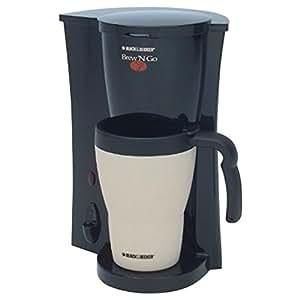 Black And Decker Brew And Go Coffee Maker Instructions : Amazon.com: Black & Decker DCM18 Brew N Go Coffeemaker, Black/White: Coffee Maker: Kitchen & Dining