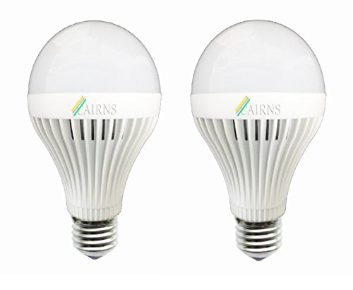 12W White E27 LED Bulb (Set of 2)