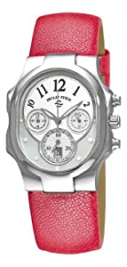Philip Stein Women's 22-FMOP-CPP Classic Chronograph Dial Watch