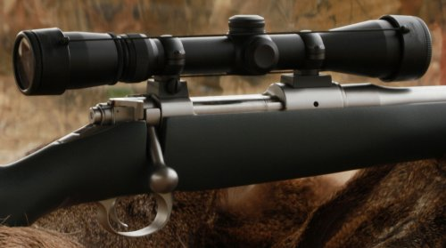 Shoot Thru Rifle Scope Cover - When Seconds Count, Don'T Miss The Shot. Size:Ej Fits Any Scope With 50 Mm Lens Or Some 40 Mm With A.O. See Details Below.