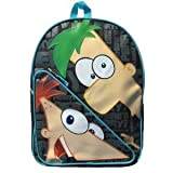 Phineas and ferb black backpack - Full size Backpack