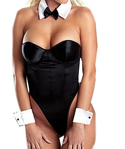 Bigood Sexy Bunny Girl Lingerie Costume - Bunny Costume Adult for Women