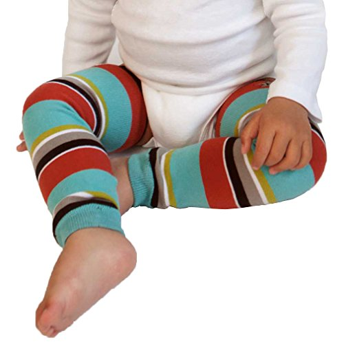 Huggalugs Baby and Toddler Boys Hipster Stripe Legwarmers