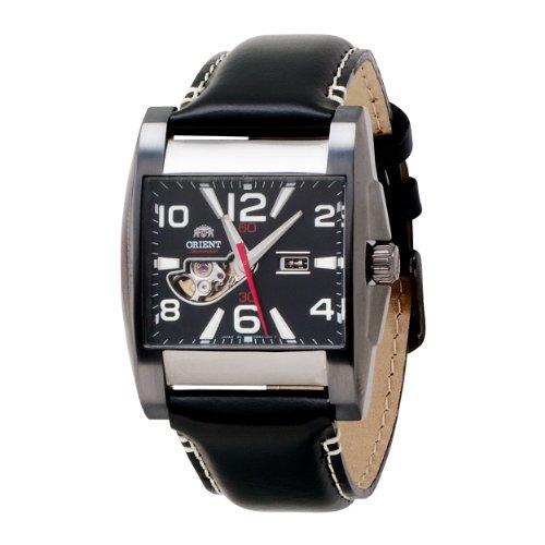 Orient Men's CDBAA003A Semi-Skeleton Dark Grey Automatic Watch